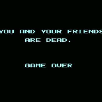 You and Your Friends are Dead. Game Over cover art