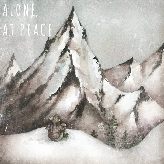 Alone, at peace. cover art