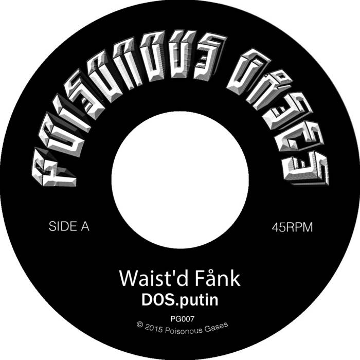 Waist'd Fånk // Glidin' On cover art
