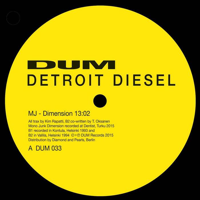 DETROIT DIESEL - MJ-Dimension cover art