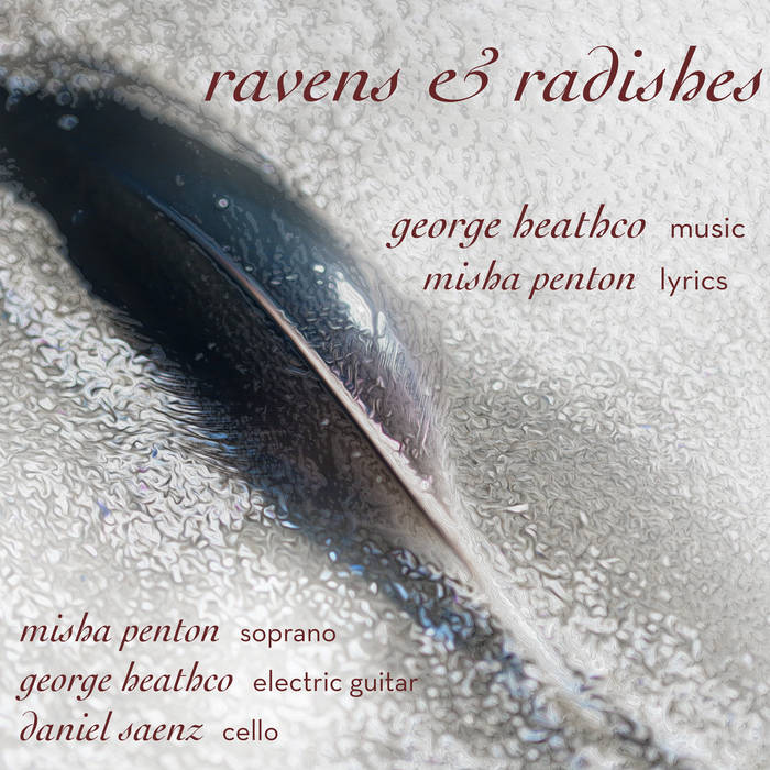 george heathco: ravens & radishes cover art