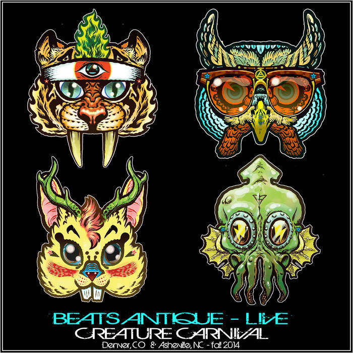 Creature Carnival Live - Continuous Mix cover art