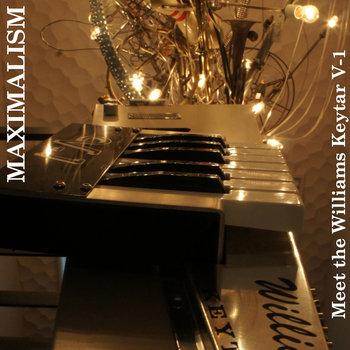 Meet the Williams Keytar V-1 cover art