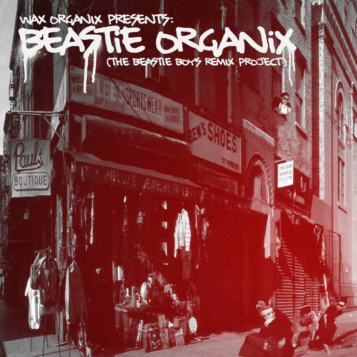 Beastie Organix (The Beastie Boys Remix Project) cover art