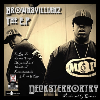 BrownsVilliainz(E.P) cover art