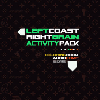 Left Coast Right Brain Activity Pack 2012 edition cover art