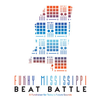 Today's Future Sound, Phillipdrummond and Melvin Priester Jr. Present the Funky Mississippi Beat Battle Tape cover art