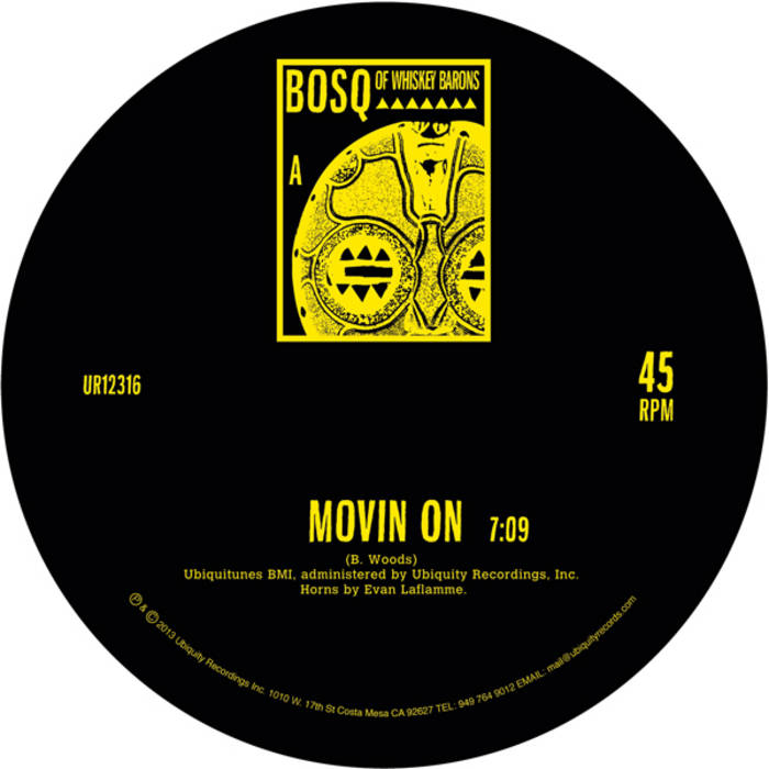 Movin' On b/w Keep Movin' cover art