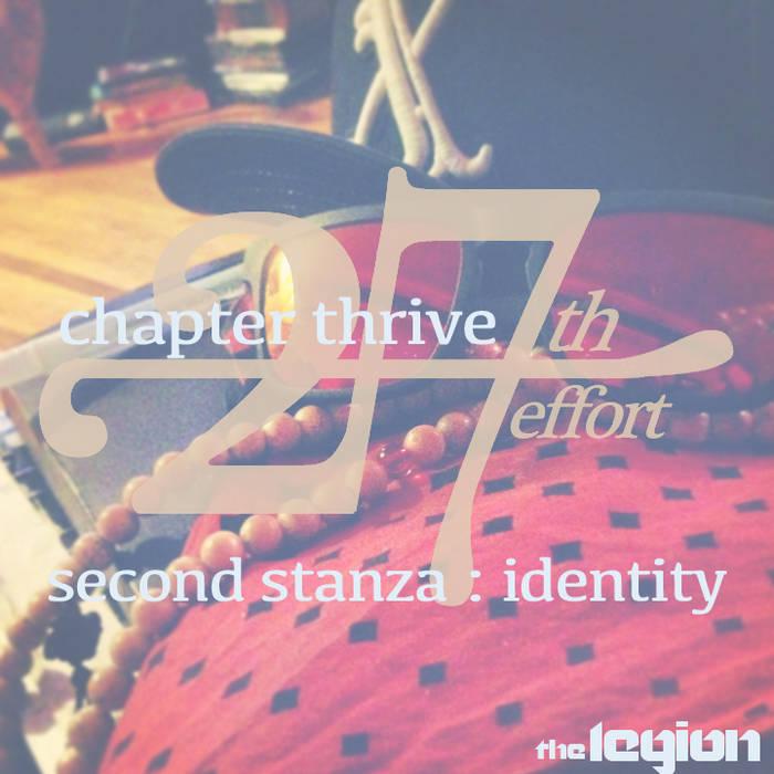 27th effort: second stanza - identity cover art