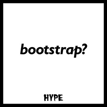 bootstrap? cover art