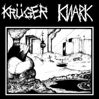 "KRÜGER/KNARK SPLIT 7"" cover art"