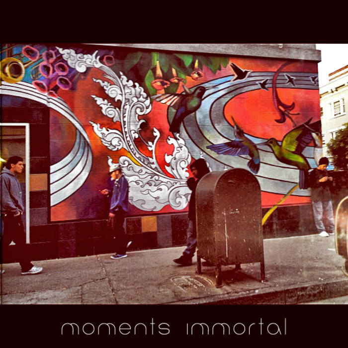 Moments Immortal cover art