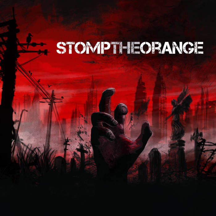 Stomp The Orange EP cover art