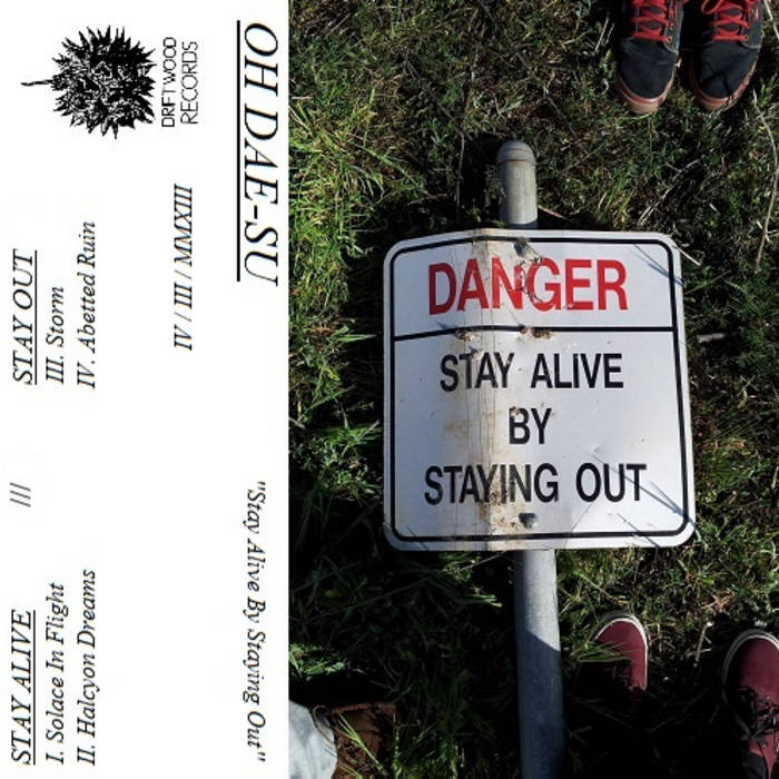 Stay Alive By Staying Out (Demo EP) cover art