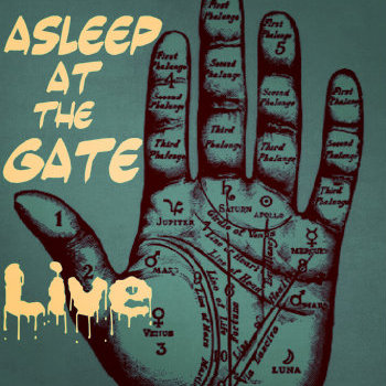 "Asleep At The Gate ""Live"" cover art"