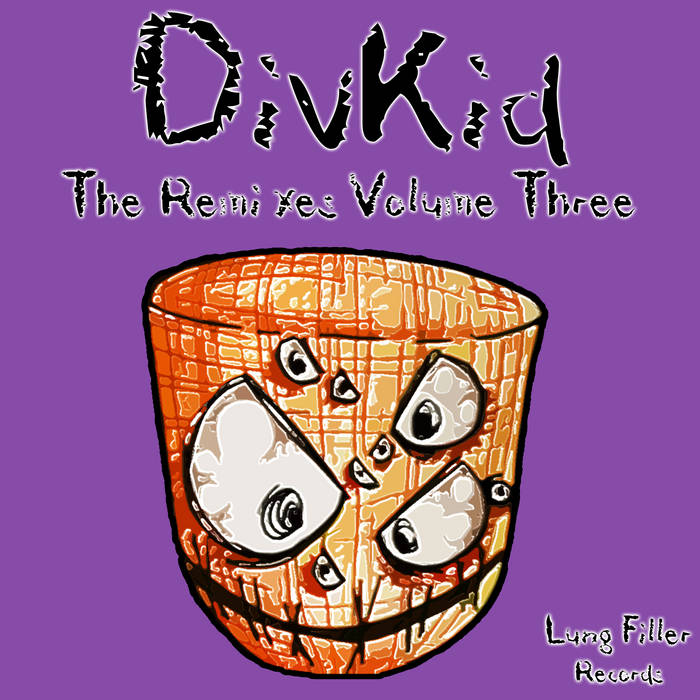 [LUNG053] DivKid - The Remixes Volume Three cover art