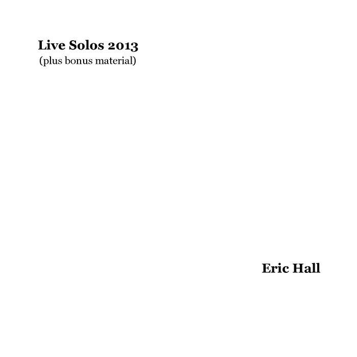 Live Solos 2013 (plus bonus material) cover art