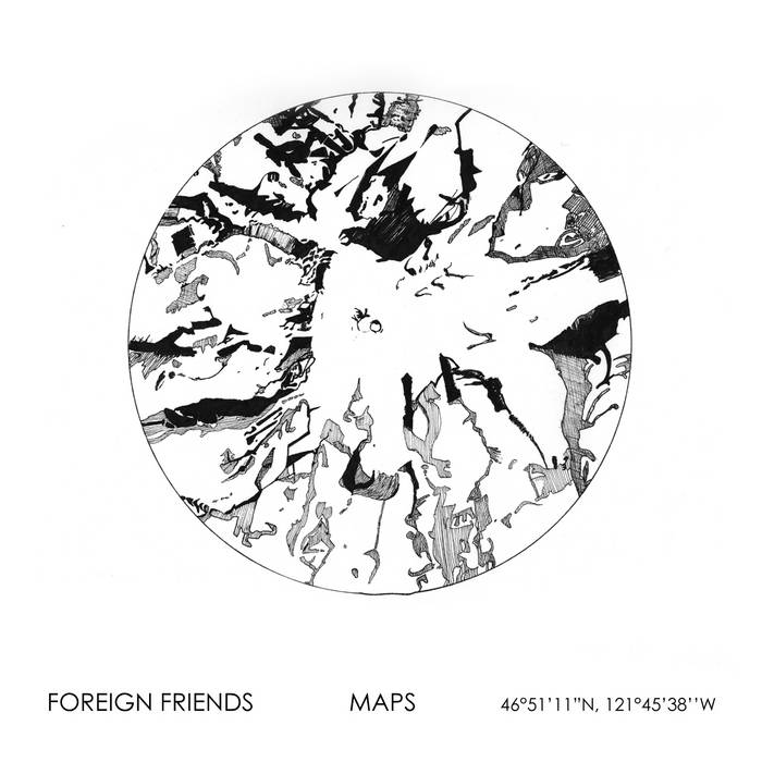 Maps EP2 cover art