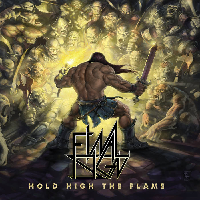 Hold High The Flame Final Sign American Power Metal