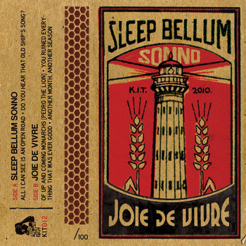 Sleep Bellum Sonno & Joie De Vivre - Split Tape cover art