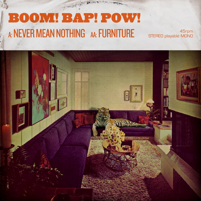 Never Mean Nothing / Furniture Double A-Side cover art