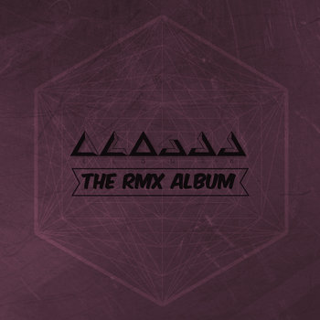 the RMX album cover art
