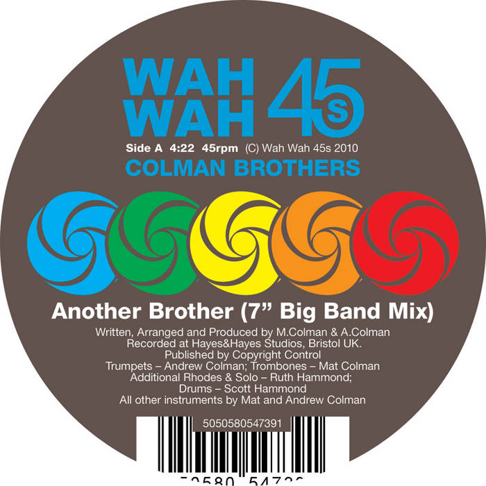 "Another Brother 7"" single cover art"