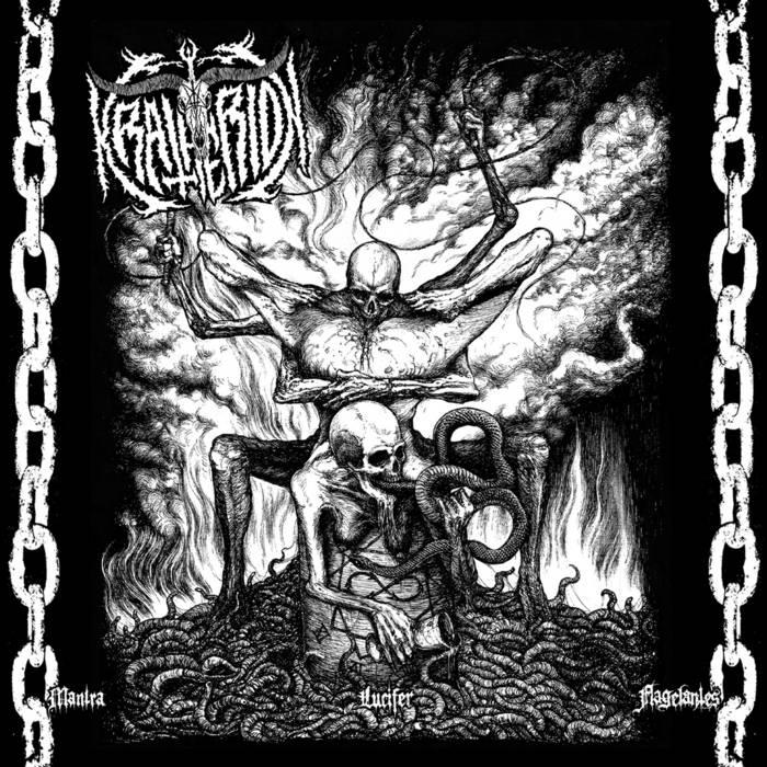 "KRATHERION ""Mantra Lucifer Flagelantes"" cover art"