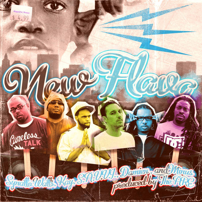 New Flava Maxi-Single cover art