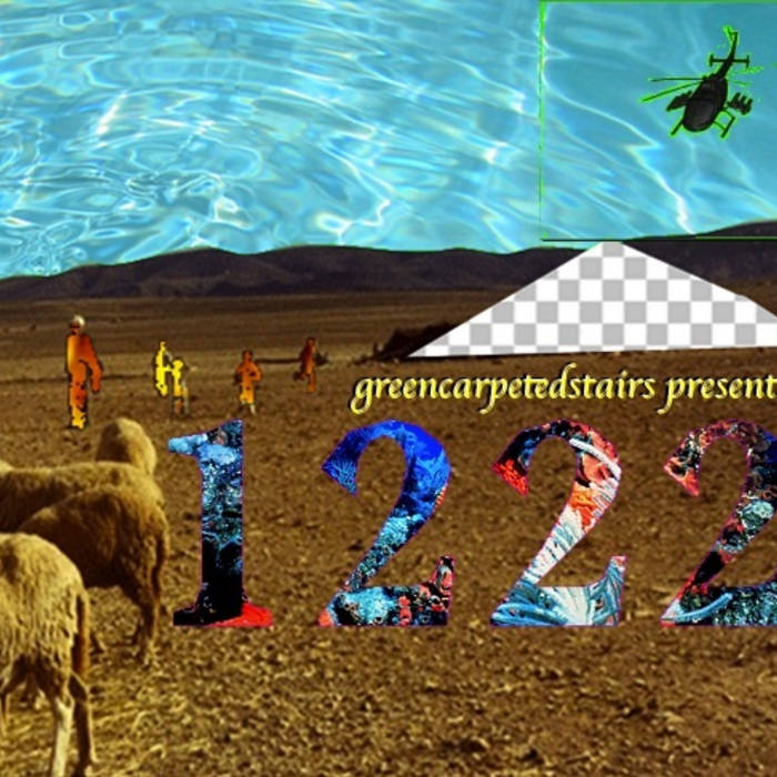greencarpetedstairs presents 1222 cover art