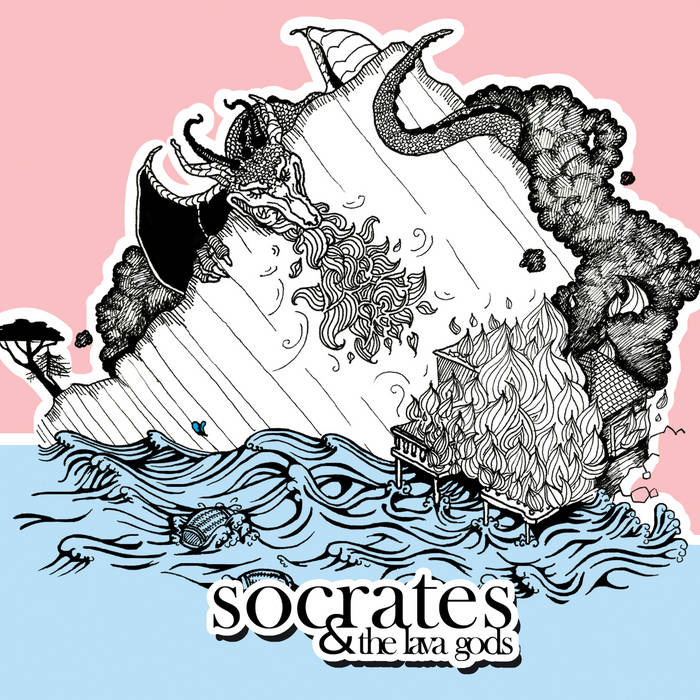 Socrates and the Lava Gods cover art