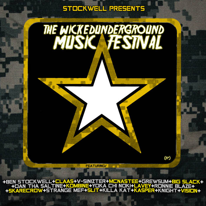The Wicked Underground Music Festival EP cover art
