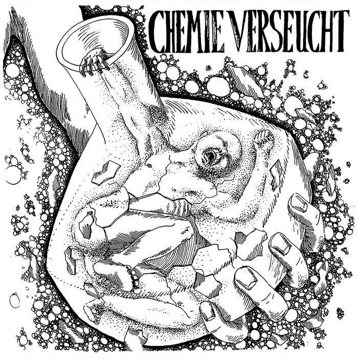 CHEMIEVERSEUCHT / FUHNEPIERATTEN - Split  LP