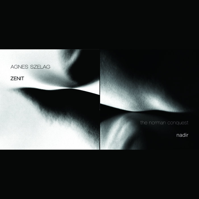 nadir/ZENIT split LP cover art
