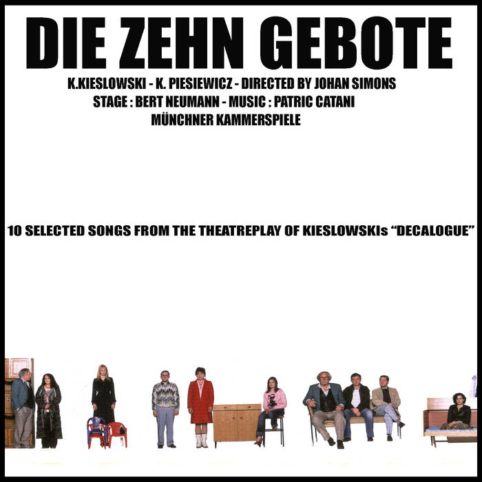 Die Zehn Gebote / Decalogue cover art
