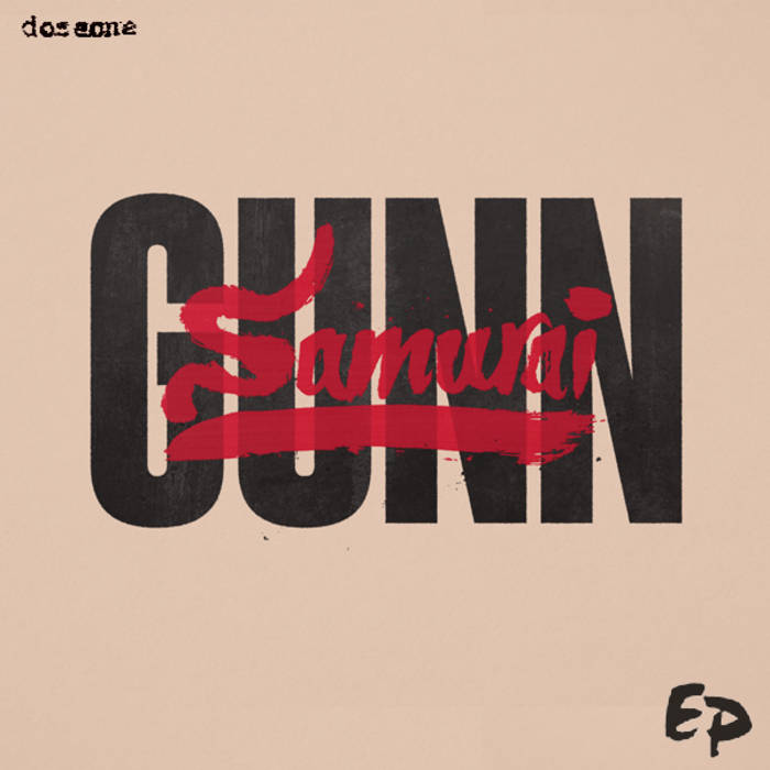 the SamuraiGUNN EP cover art