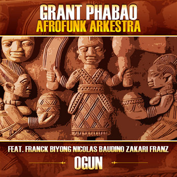 Ogun feat. Franck Biyong, Nicolas Baudino, Zakari Frantz cover art