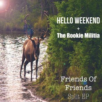 """Friends Of Friends"" Split EP cover art"
