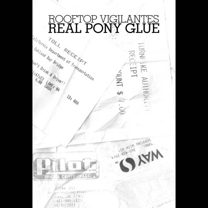 Real Pony Glue cover art