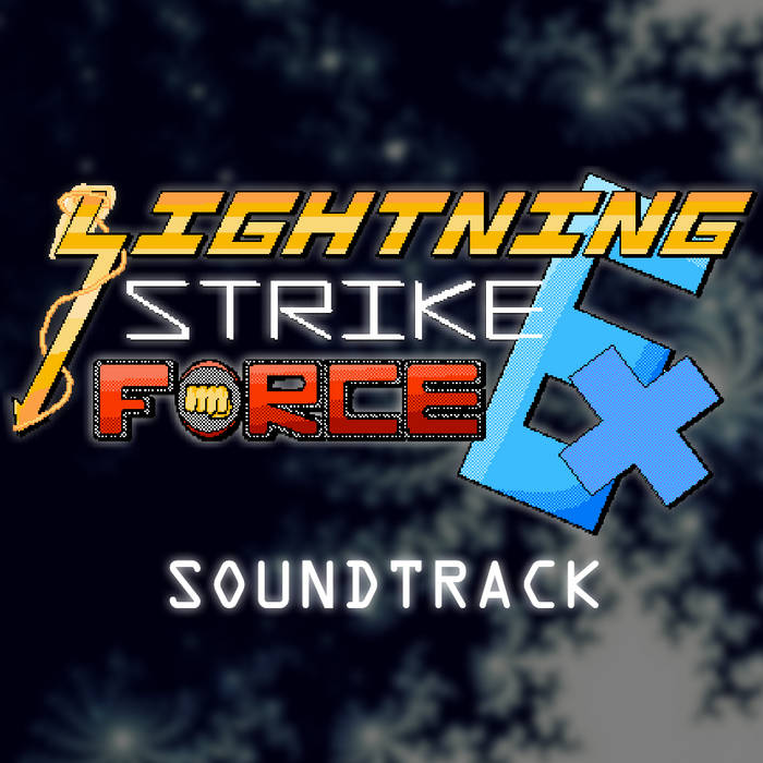 Lightning Strike Force EX OST cover art