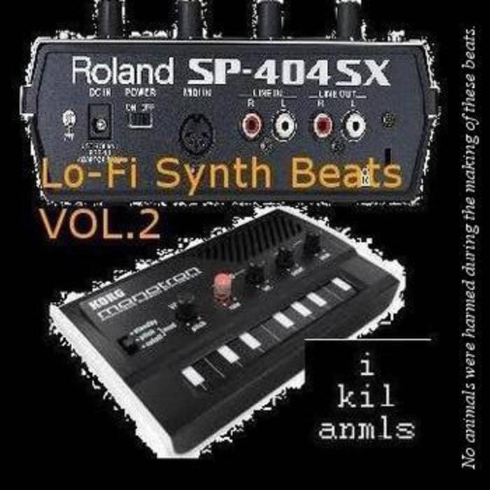 lo-fi synth beats vol.2 cover art