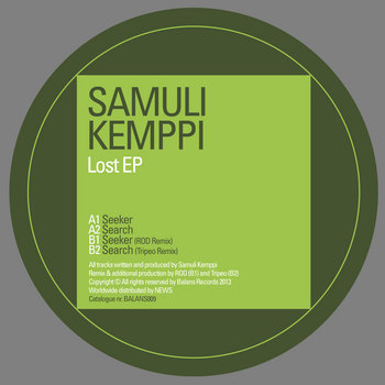 Samuli Kemppi | Lost EP | BALANS009 cover art