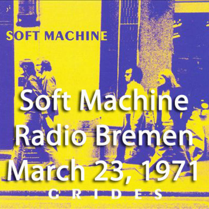 Live at Radio Bremen - March 23, 1971 [from 'Grides' DVD] cover art