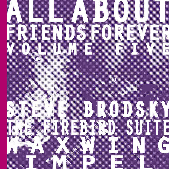 ALL ABOUT FRIENDS FOREVER VOLUME 5 cover art