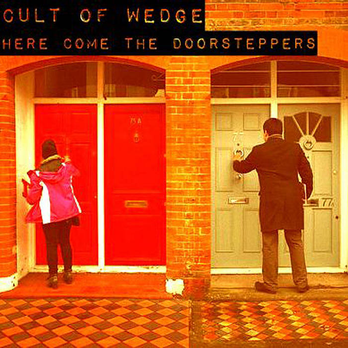 HERE COME THE DOORSTEPPERS cover art