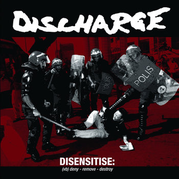 Disensitise cover art