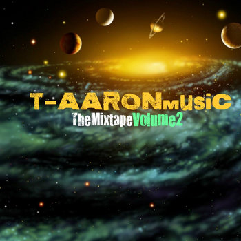 T-AARONmusic THEMIXTAPE VOL.2 cover art