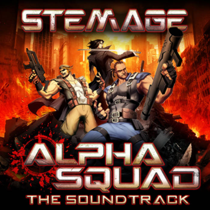 Alpha Squad Soundtrack cover art