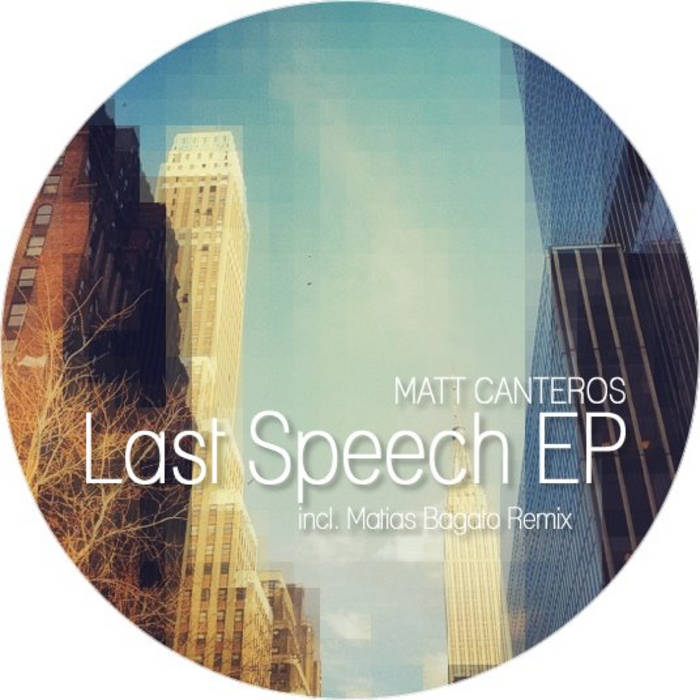 Last Speech EP cover art