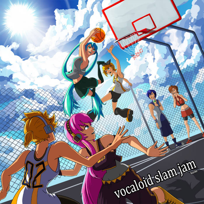 VOCALOID SLAM JAM cover art
